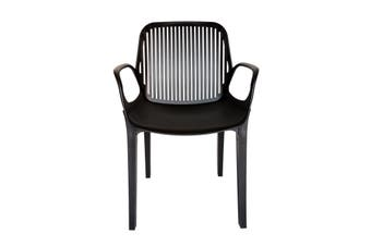 Kyoto Plastic Chair | Black