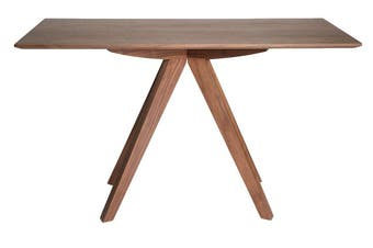 Amber Collection | Rectangular Wood Console Table | Walnut