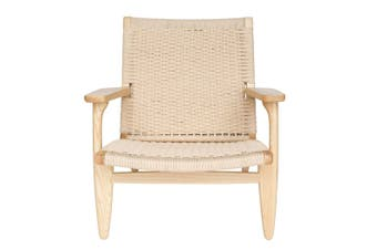 Replica Hans Wegner CH25 Easy Chair | Natural