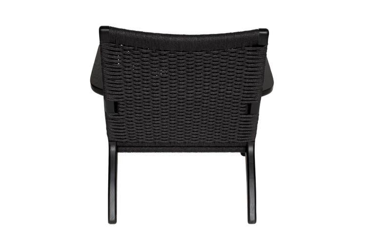 Replica Hans Wegner CH25 Easy Chair   Black