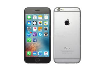 Apple iPhone 6 64GB [Refurbished-Good Condition]-Silver