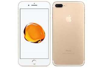 Apple iPhone 7 Plus Refurbished, 4G New Condition Gold Excellent 128GB