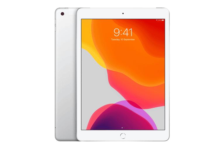 "Apple iPad 7th Gen (Wi-Fi Unlocked, 10.2"") 128GB - Silver"