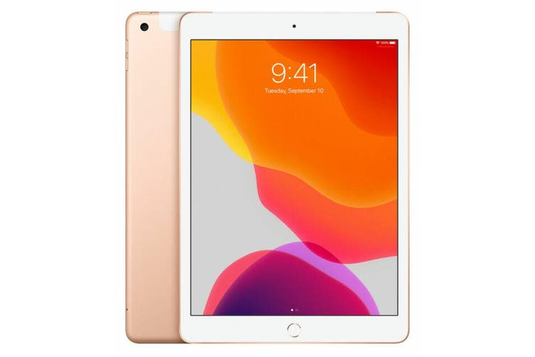"""Apple iPad 7th Gen (Wi-Fi Unlocked, 10.2"""") 32GB - Gold"""