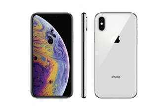 Apple iPhone XS Max 64GB [Refurbished- Flawless Condition]- Silver