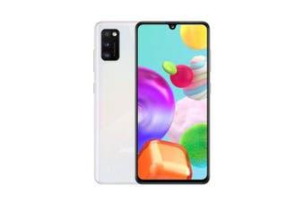 Samsung Galaxy A41 DUAL SIM 64GB/4GB RAM 4G LTE [AU Seller]- White