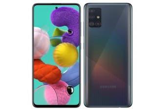 Samsung Galaxy A51 (128GB 6GB RAM, 4G LTE) - Prism Crush Black