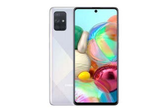 Samsung Galaxy A71 (6GB/128GB) Dual SIM International Model - Prism Silver