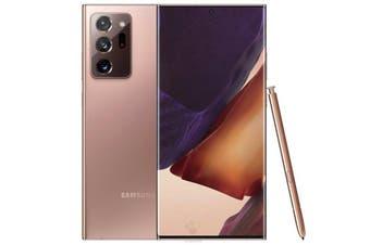 Samsung Galaxy Note20 Ultra 5G 12/256GB Dual SIM-International Model - Mystic Bronze