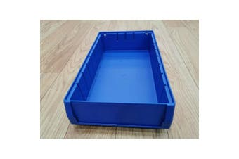 Blue Plastic Stackable Space Saving Storage Bin PK4209