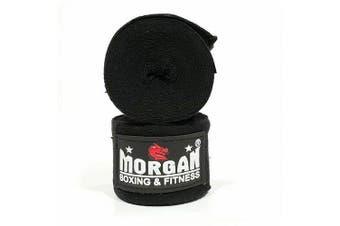Morgan Cotton Boxing Hand Wraps 180Inch - 4M Long (Pair)