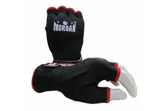 Morgan Elasticated Easy Hand Wraps - Hand Protection MMA Muay Thai Boxing