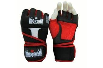 Morgan V2 Elite Gel Shock Easy Wraps  - Hand Protection MMA Muay Thai Boxing