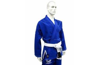 Dragon V2 450Gsm Bjj Gi - Ibjjf Approved (Blue)