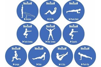 Morgan 10Pcs Exercise Dots Pack