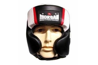 Morgan V2 Mexican Leather Head Guard