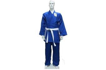 Dragon Blue 1.5 (550Gsm) Judo Weave Uniform