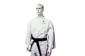 Yamasaki Gold Deluxe Brushed Canvas Karate Uniform - 14Oz