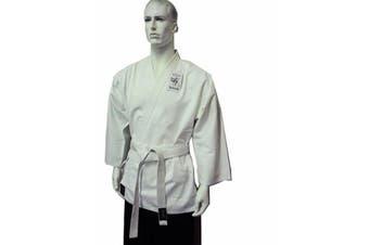 Dragon Karate Salt & Pepper Uniform (8oz)