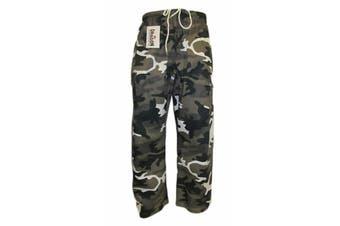 Morgan Grey Camo Training Pants