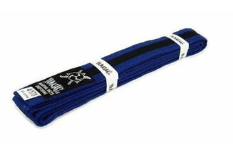 Yamasaki Coloured Martial Arts Belts (With Black Stripe)