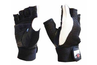 Morgan Leather/Mesh Weight Gloves[Small]