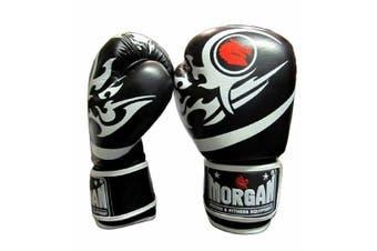 Morgan Elite Boxing & Muay Thai Leather Gloves (8 -12 & 16Oz)