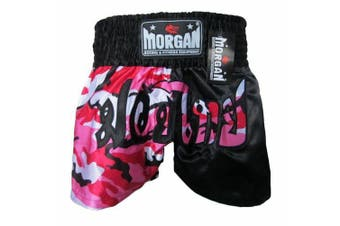 Morgan 50/50 Diabla Muay Thai Shorts
