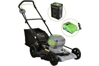 Neovolta 60V Cordless Lawn Mower Kit Li-Ion Battery Powered Grass Garden
