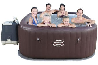 Bestway Inflatable Spa Lay Z Hot Tub Outdoor Massage Pool Portable Jacuzzi 5-7 People 148 Jets