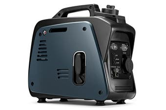 GenTrax Inverter Generator - 800W Max, 700W Rated, 100% Pure Sine Wave, Petrol, Portable for Camping Home - Grey
