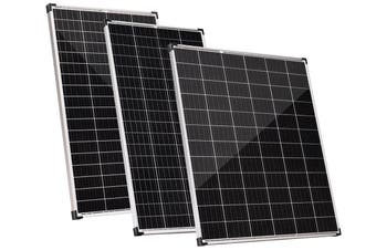 Acemor 12V 250W Solar Panel Kit Mono Power Camping Caravan Battery Charge USB