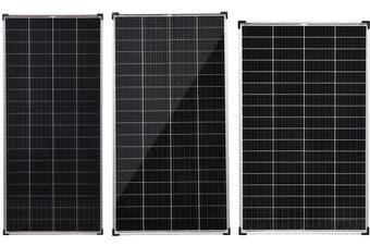 Acemor 12V 2x 300W Solar Panel Kit Mono Power Camping Caravan Battery Charge USB