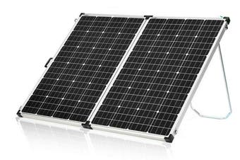 Acemor 12V 320W Folding Solar Panel Kit Mono Power Camping Battery Charge USB