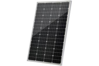 Acemor 12V 130W Solar Panel Kit Mono Power Camping Caravan Battery Charge USB