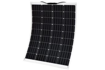Acemor 12V 160W Flexible Solar Panel Kit Mono Power Camping Battery Charge USB