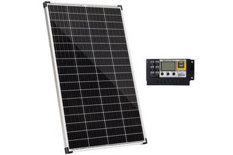 Acemor 12V 200W Solar Panel Kit + 20A Controller Mono Power Camping Charge USB