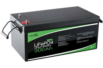 300Ah 12V VoltaX Lithium Iron Battery LiFePO4 Rechargeable Solar Camping Caravan