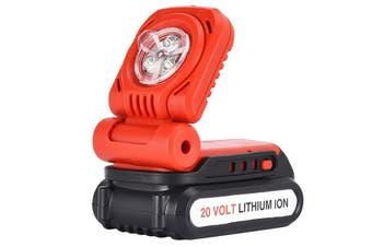 Matrix 20V Cordless Work Light Flashlight Torch Battery Charger Set