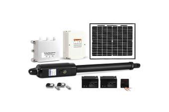 LockMaster Automatic Full Solar Power Swing Gate Opener Kit 600KG