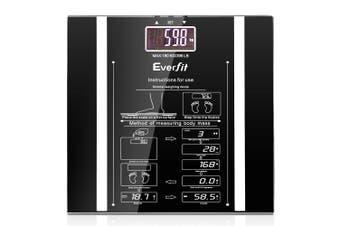Everfit Electronic Digital Body Fat Scale - Black