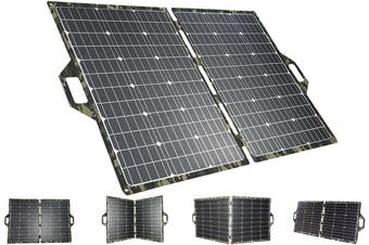 Acemor ETFE 250W Folding Solar Panel Blanket Mat Kit Mono Camping Battery Charger
