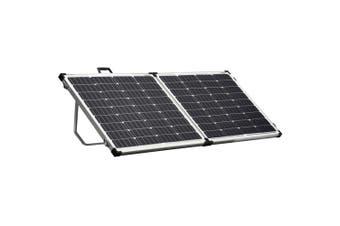 Acemor 12V 200W Folding Solar Panel Kit Mono Camping Caravan Battery Charge Super Light