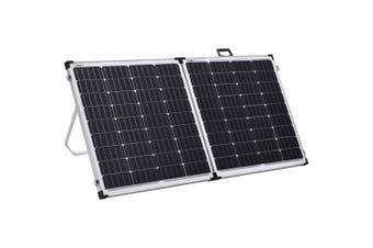 Acemor 12V 250W Folding Solar Panel Kit Mono Camping Caravan Battery Charge Super Light