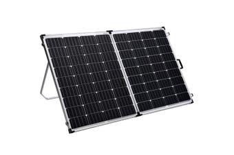 Acemor 12V 300W Folding Solar Panel Kit Mono Camping Caravan Battery Charge Super Light