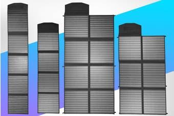 Acemor 12V 200W Folding Solar Panel Blanket Kit Solar Mat Mono Camping Power USB