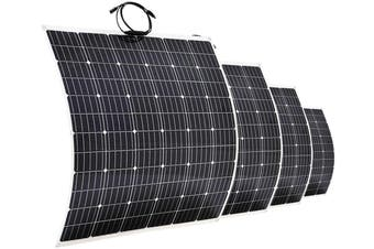 Acemor 12V 250W Flexible Solar Panel 160 Watt Mono Caravan Camping Home Battery Charge