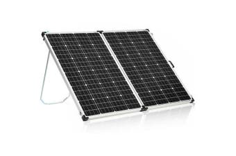 Acemor 12V 360W Folding Solar Panel Kit Mono Camping Power Charge Battery USB