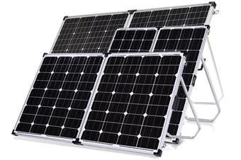 Acemor 12V 360W Folding Solar Panel Kit Mono Camping Power Charge Battery USB