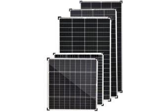 Acemor 10W 12V Flat Solar Panel Kit Mono Caravan Camping Power Battery Charging